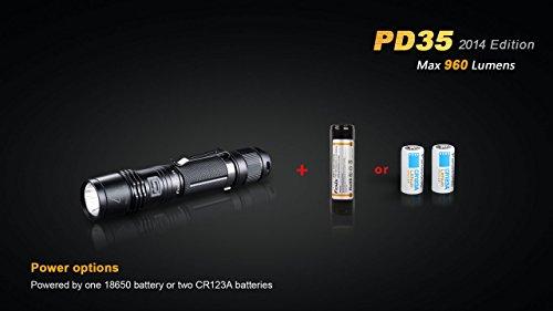 960 Lumen CREE XM-L2 U2 LED Fenix Best Tactical Flashlight Reviews 2016 Buying guide