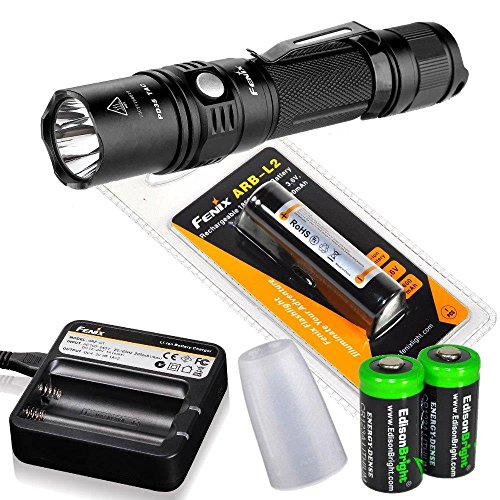 Fenix PD35 TAC 1000 Lumen Best Tactical Flashlight Reviews 2016 Buying guide