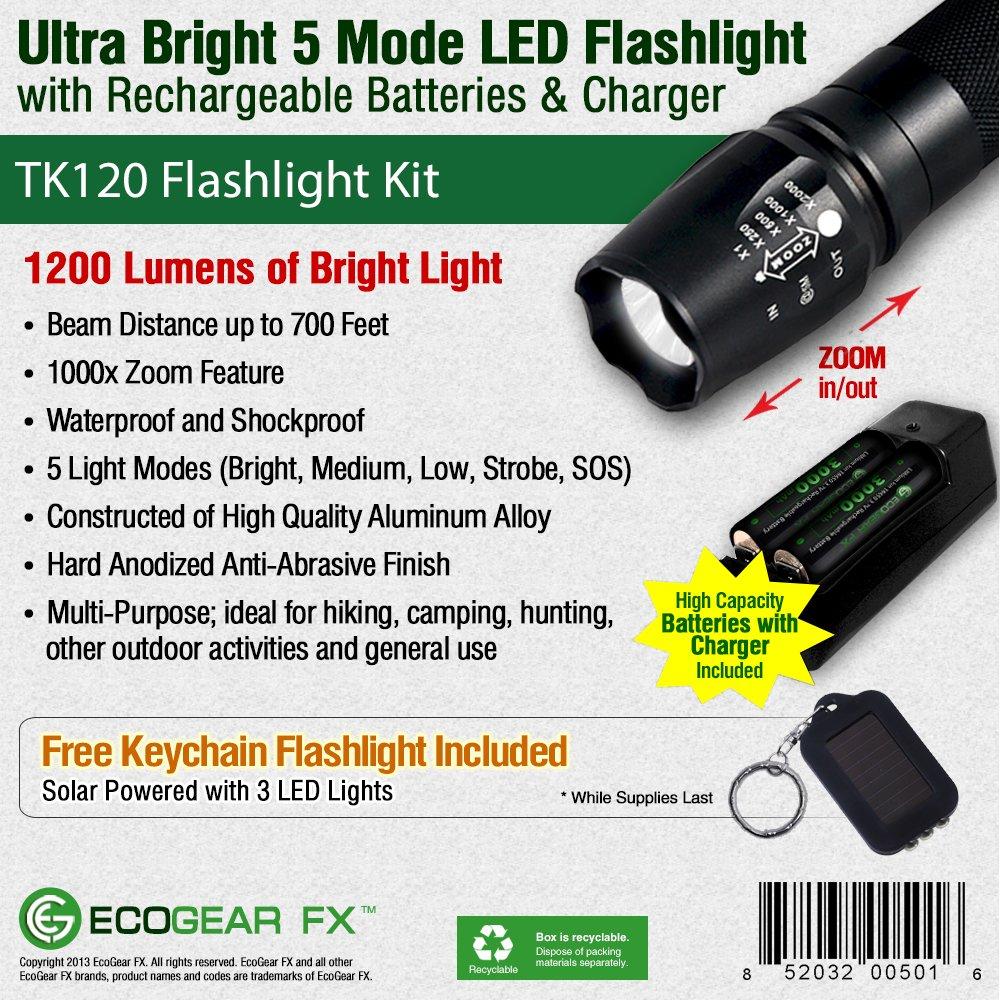 EcoGear FX Tactical Flashlight