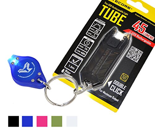 Nitecore Tube T Series 45 Lumens Best keychain flashlight brightest led tactical torch