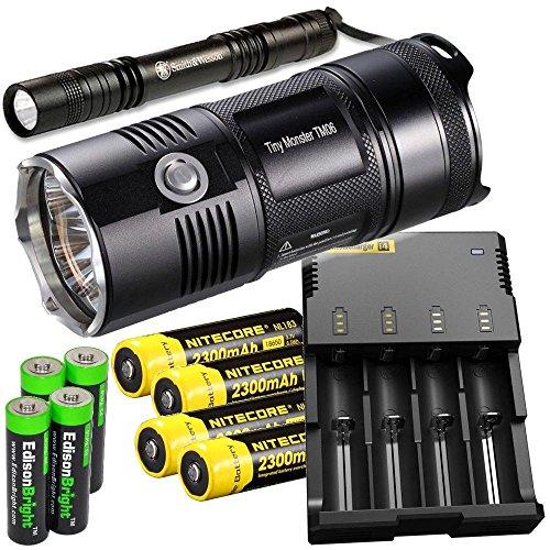 Nitecore TM06 3800 Lumen CREE LED Best AA Flashlight led tactical torch buying guide