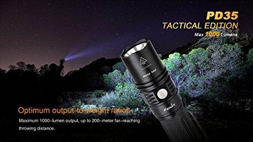 Fenix tactical flashlight review