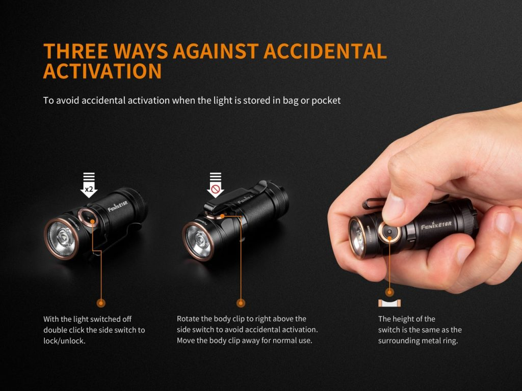 small everyday carry flashlight