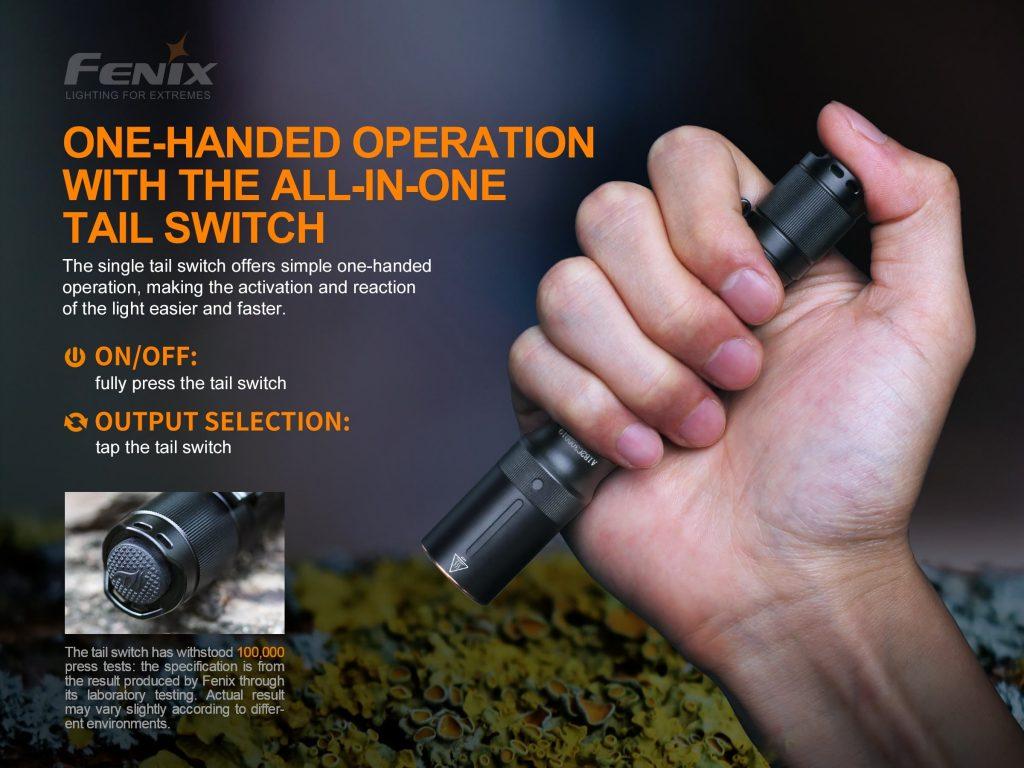 Fenix E20 V2 EDC flashlight