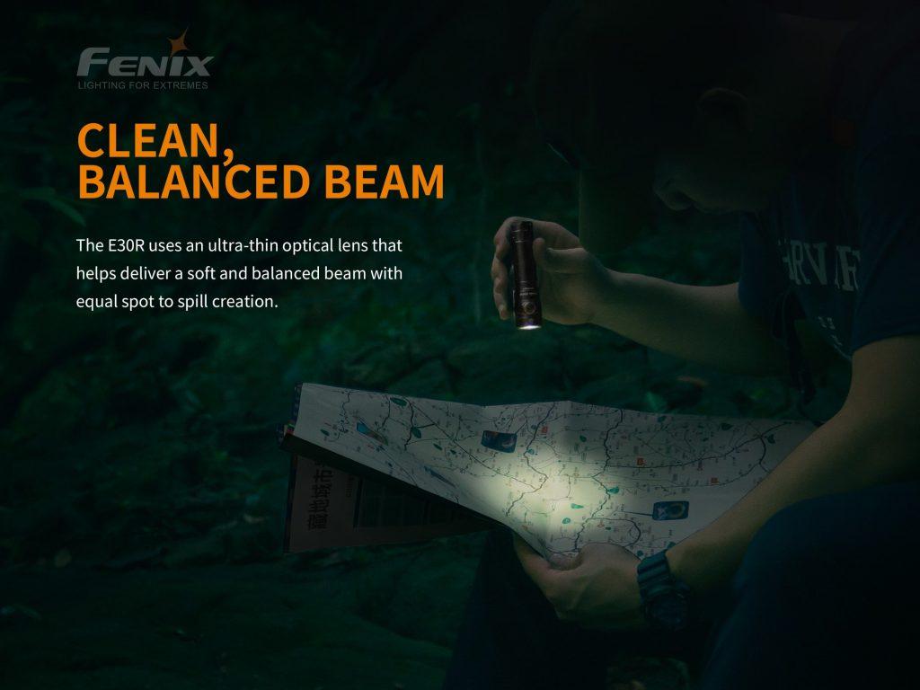 fenix e30r rechargeable flashlight