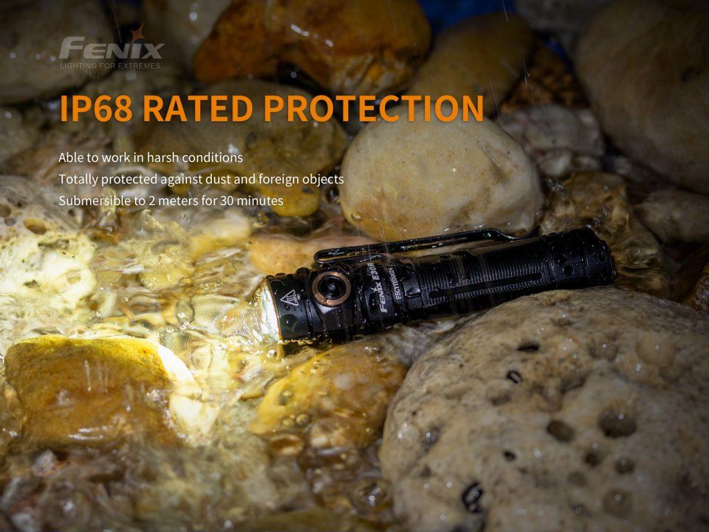 durable fenix flashlight e30r