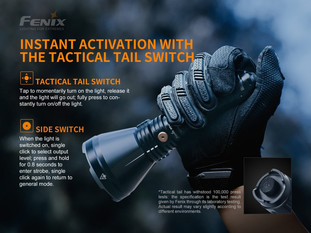 best tactical flashlight for hunting