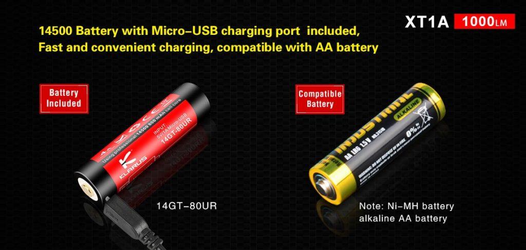 14500 li ion battery