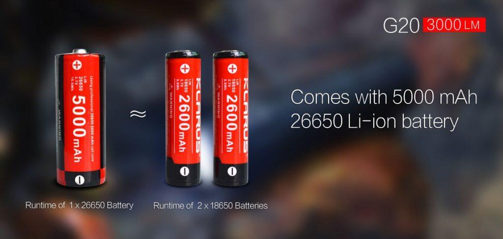 26650 li ion battery
