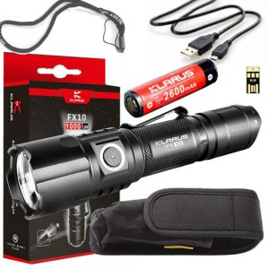 Rechargeable Camping Flashlight Klarus FX10
