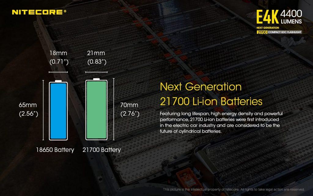 21700 vs 18650 battery