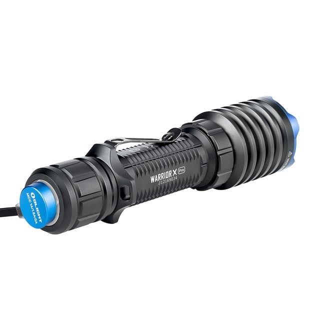 rechargeable olight flashlight warrior x pro