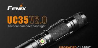 fenix uc35 flashlight