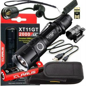 Klarus XT11GT 2000 Lumen Tactical Flashlight