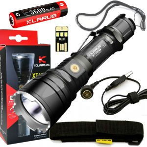 Best Rechargeable Flashlight Klarus XT12GT