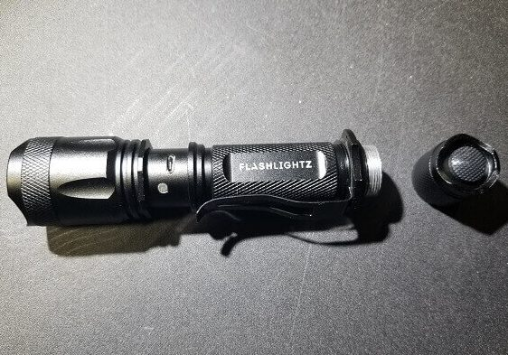 best tactical flashlight beacon