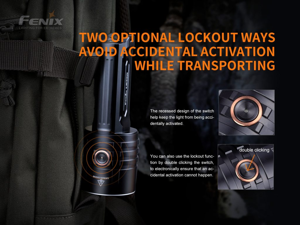 fenix flashlight lr35r