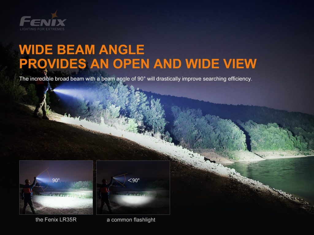 fenix flashlight lr35r 10000 lumens