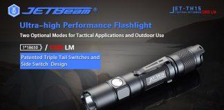 best tactical flashlight jetbeam th15