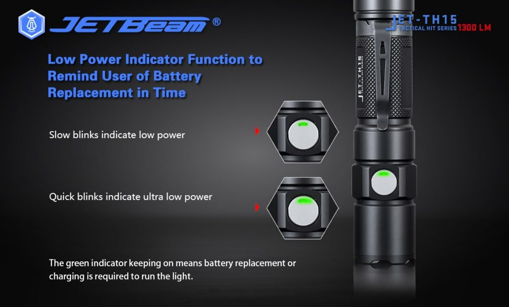 outdoor flashlight jetbeam th15