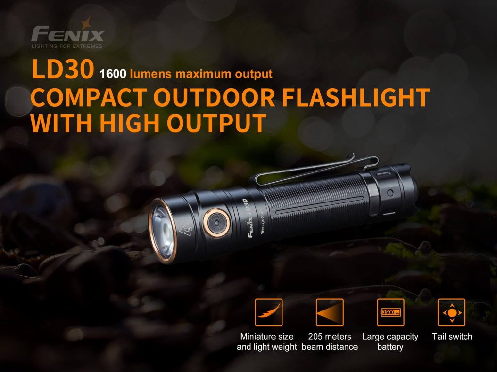 Fenix LD30 LED Flashlight