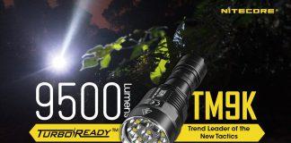 Nitecore TM9K tactical pocket flashlight