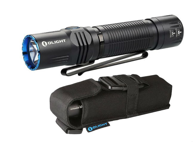 olight tactical flashlight with holster