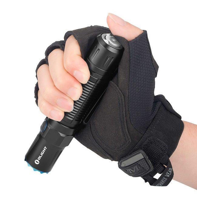 tactical flashlight olight m2r pro warrior