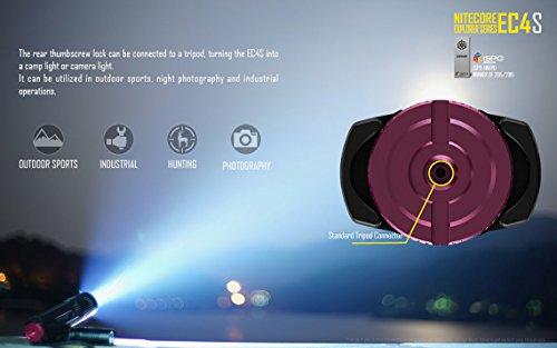 Nitecore EC4S Review 2150 lumen Handheld Searchlight 18650 Protected Batteries Nitecore