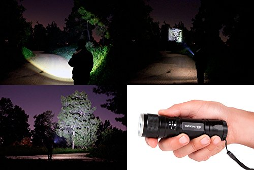 Super Bright Small Tactical Flashlight and Best cheap flashlight 2016 and BRIGHTEX FL11 review