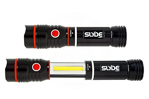 simple, strong flashlight, emitting 250 lumens of intense white light Nebo Slyde flashlight review Cheap bright flashlight