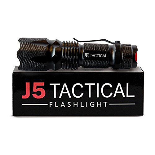 j5 tactical flashlight review Ultra Bright LED most popular Cheap flashlight