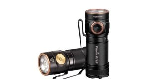 fenix e18r flashlight