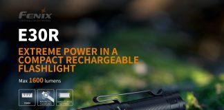 Fenix E30R best edc flashlight