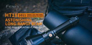best hunting flashlight fenix ht18