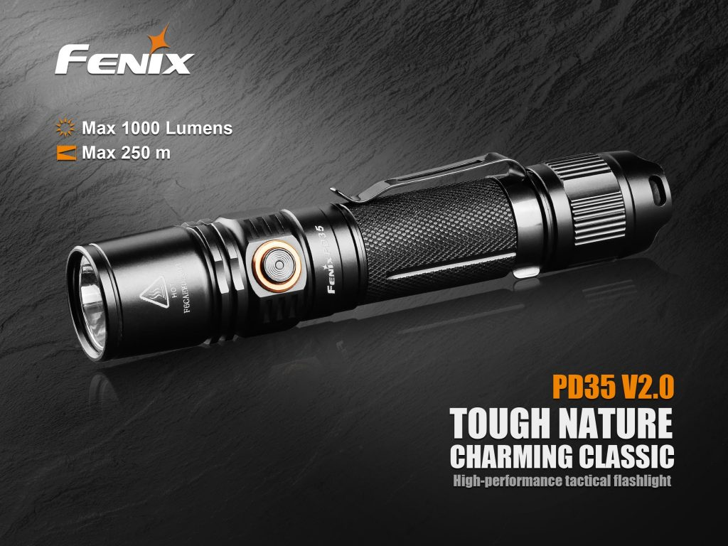 Fenix PD35 V2.0 tactical flashlight