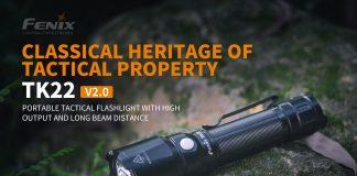 fenix tactical flashlight tk22 v2
