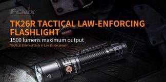 fenix tk26r tactical flashlight
