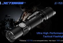 Jetbeam tactical flashlight PC20