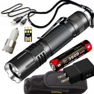 Klarus 360X1 Tactical Flashlight Amazon
