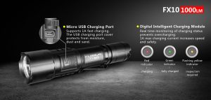 Rechargeable Flashlight Klarus FX10