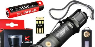 Klarus XT12GT Flashlight