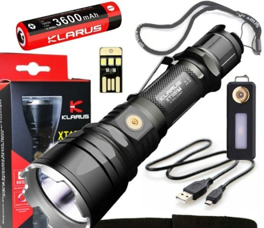 Klarus XT12GT Flashlight