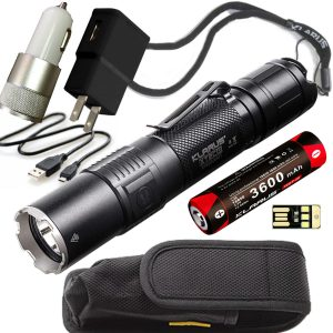 Best Tactical Flashlight 1600 Lumens