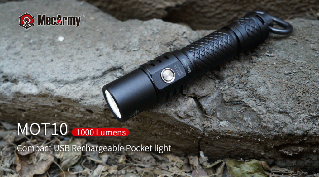 MecArmy MOT10 Tactical Flashlight Review