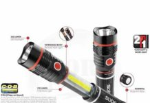 Nebo Slyde flashlight review - Cheap bright flashlight
