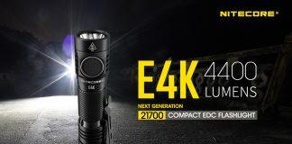 Nitecore E4K 4400 Lumen EDC Light