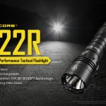 nitecore tactical flashlight p22r