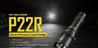 nitecore tactical flashlight p22r