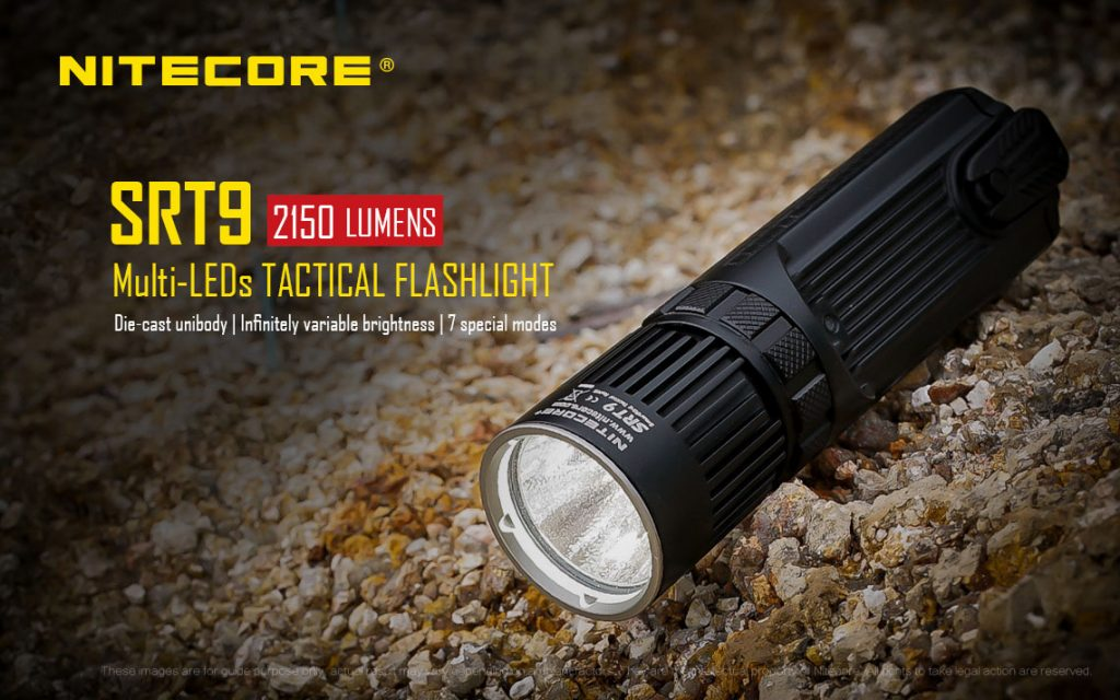 Nitecore SRT9 Multi-LED Tactical Flashlight